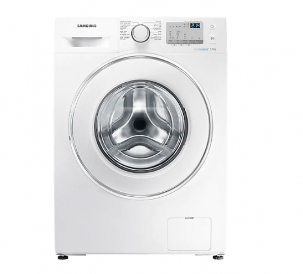 SAMSUNG WASHER FRONT LOAD 7KG 1200RPM WHITE