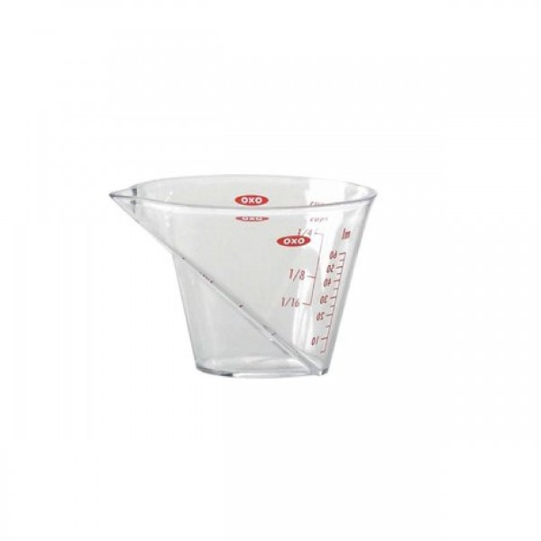 MINI ANGLED MEASURING CUP TRAY OZ