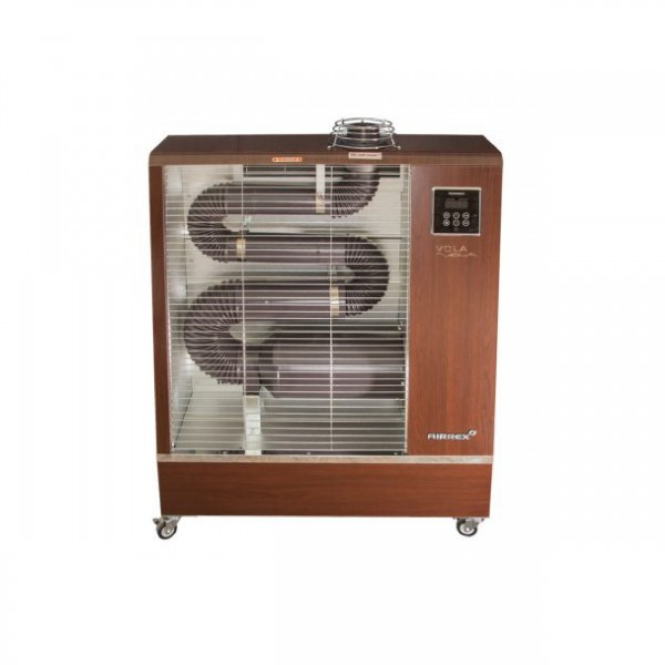 AIRREX OIL INFRARED HEATER WITH FAN (90-107)WOOD