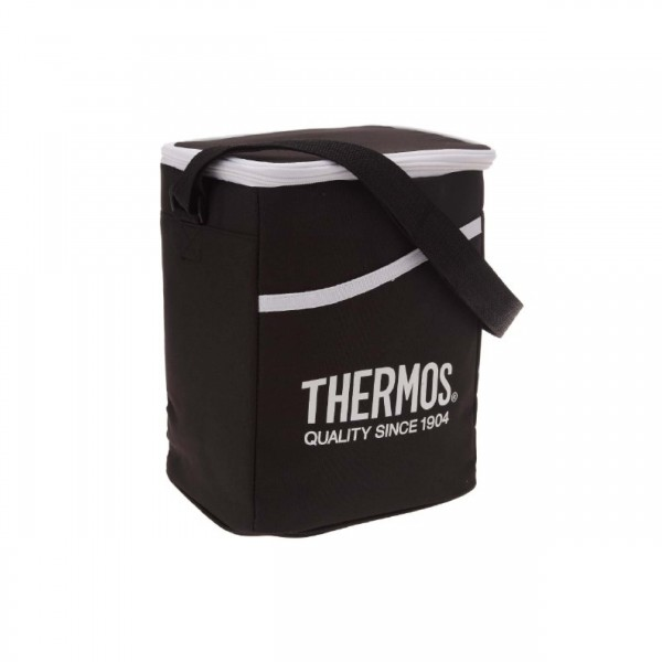 THERMOS197457 RAYA BENTO LUNCH BAG-BK+WT DOT W/PRP