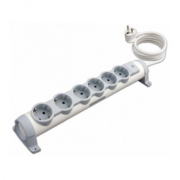 LEGRAND POWER STRIP 6 SOCKETS - 3M CORD