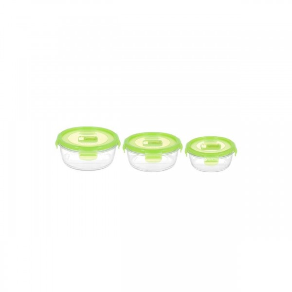 PURE BOX ROUND GREEN 3PC SET-ACTIVE [N0469]