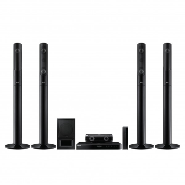 SAMSUNG HOME THEATER  BLU-RAY 3D WIRELESS 1000W 4TALL BOY
