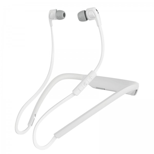SKULLCANDY SMOKIN BUDS 2 BT WHITE/WHITE/CHROME MIC2