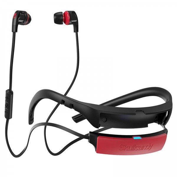 SKULLCANDY SMOKIN BUDS 2 BT BLACK/RED/RED MIC2