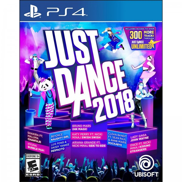 PS4 GAME JUST DANCE 2018 US