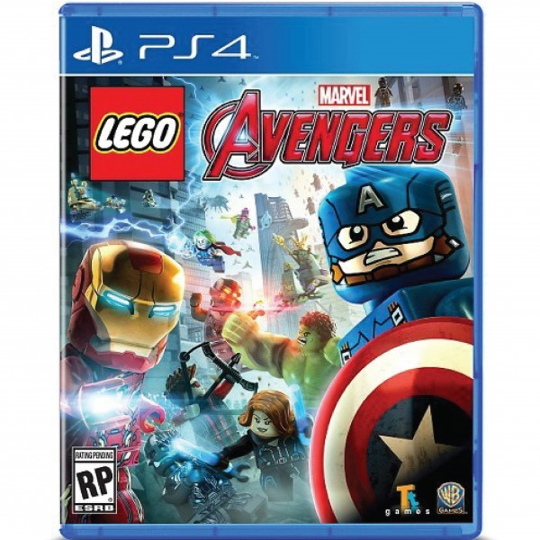 PS4 GAME LEGO AVENGERS US