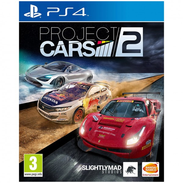 PS4 GAME PROJECT CARS 2