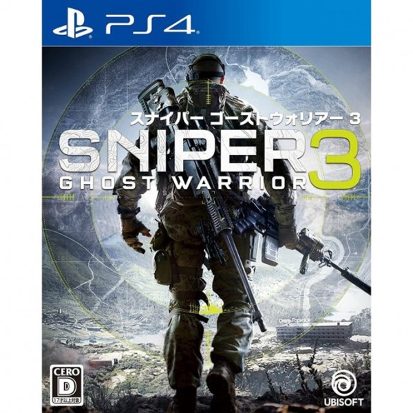 PS4 GAME SNIPER GHOST WARRIOR 3