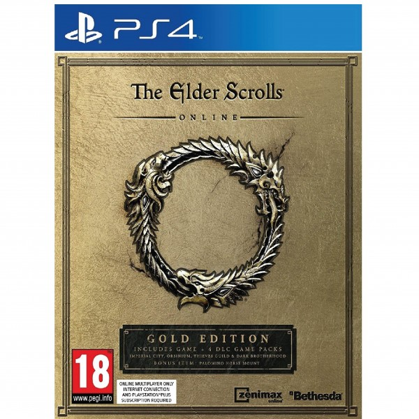 PS4 THE ELDER SCROLLS ONLINE GOLD EDITION