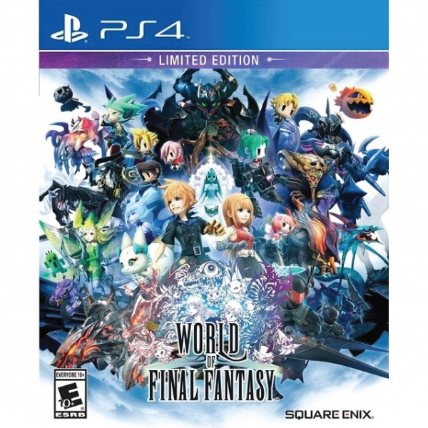 PS4 WORLD OF FINAL FANTASY LIMITEDEDITION