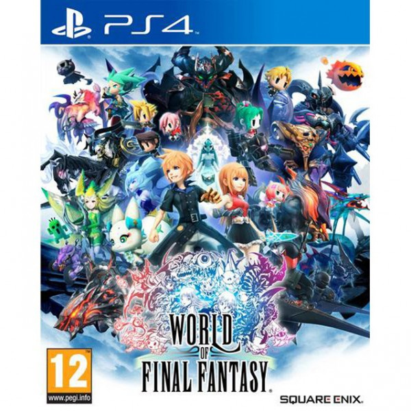 PS4 WORLD OF FINAL FANTASY STANDARD EDITION
