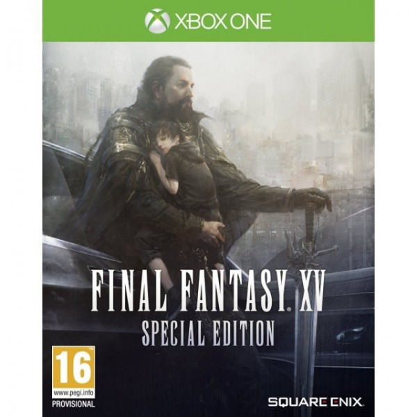 XBOX ONE FINAL FANTASY XV STEEL BOOK EDITION