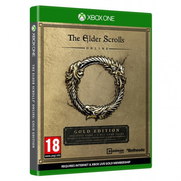 XBOX ONE THE ELDER SCROLLS ONLINE GOLD EDITION