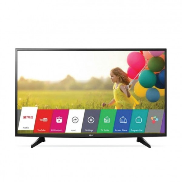"LG LED 43"" FULL HD SMART 1USB 2HDMI+RECIVER BLUILT -IN"