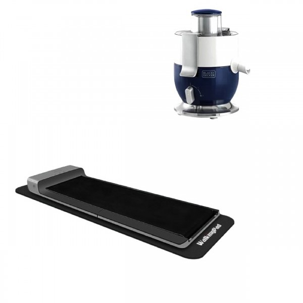 Smart Walking Pad Compact & Foldable + Juice Extractor 1000W