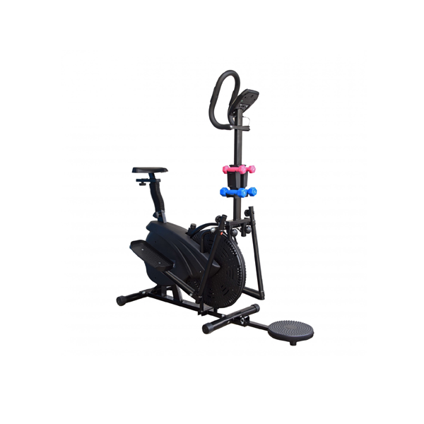 NEW FITNESS LINE ELLIPTICAL TRAINER 4 IN 1 100KG USER WEIGHT