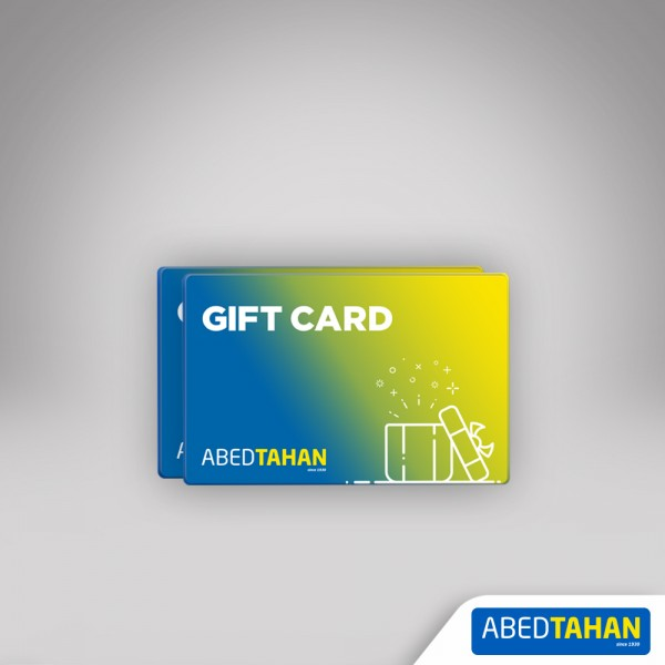 Abed Tahan gift card