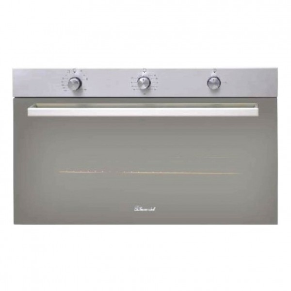SUPER CHEF OVEN 90CM GAS ELECTRIC STAINLESS