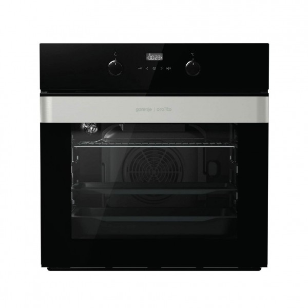 GORENJE OVEN 60CM ELECTRIC STAINLESS/GLASS BLACK
