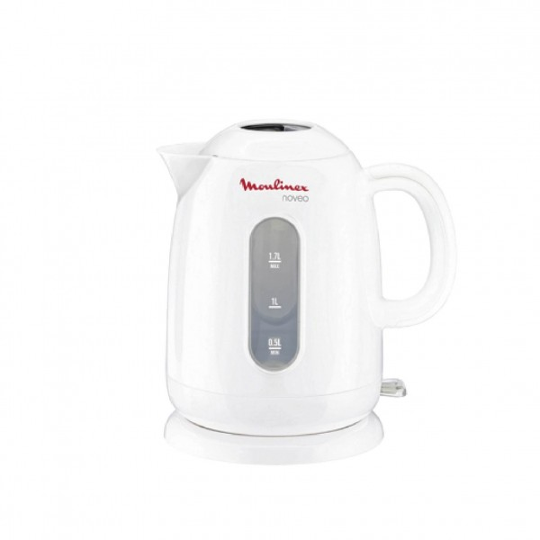 MOULINEX-KETTLE-WHITE COLOR-1.7LITERS-2400WATTS