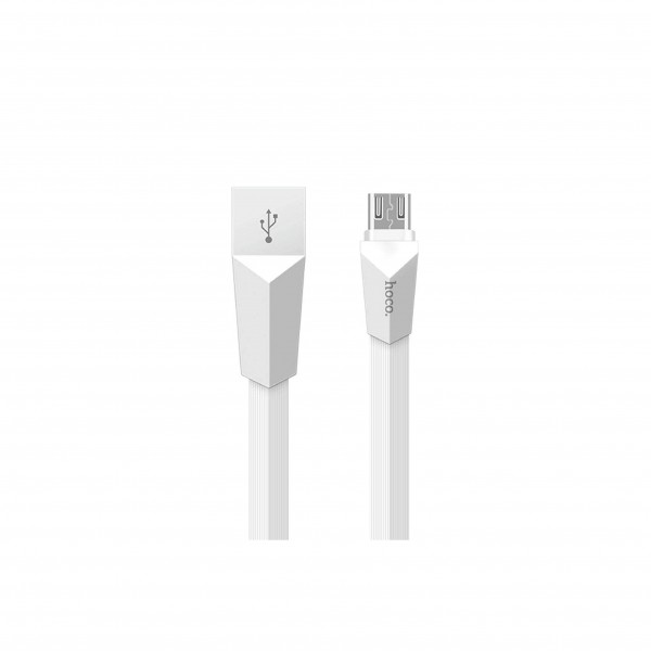 HOCO X4 ZINC CABLE MICRO USB/WHITE