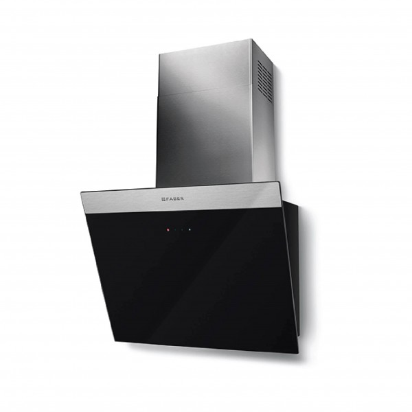 FABER WALL MOUNTED HOOD 55CM 550M3/H BLACK