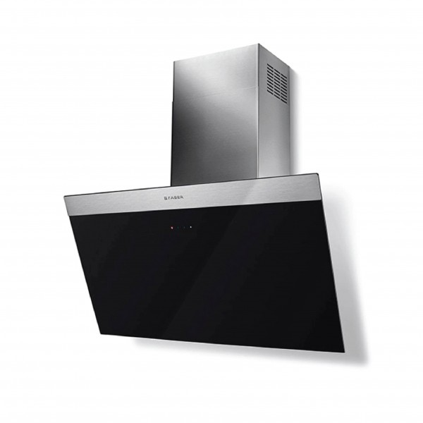 FABER WALL MOUNTED HOOD 80CM 550M3/H BLACK