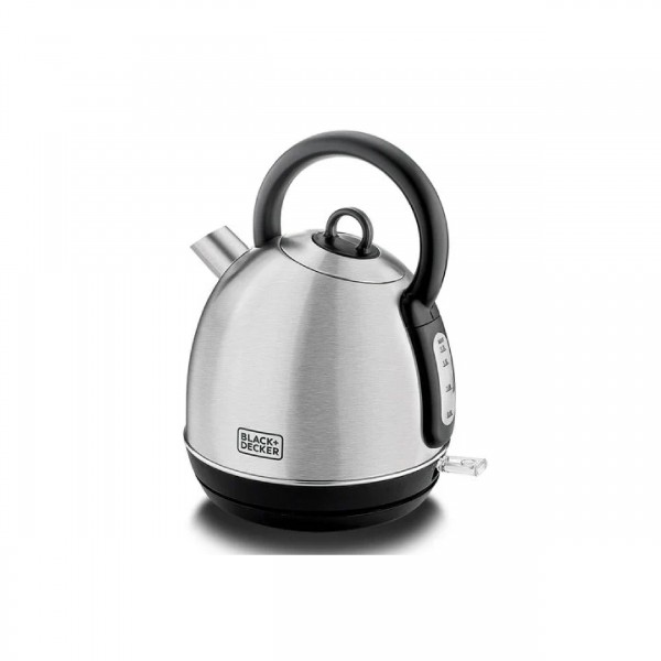 BLACK & DECKER KETTLE 2200 W 1.7 L DOME STAINLESS STEEL