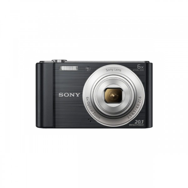 SONY CYBER-SHOT 20.1 MP DIGITAL CAMERA (BLACK) -6X ZOOM