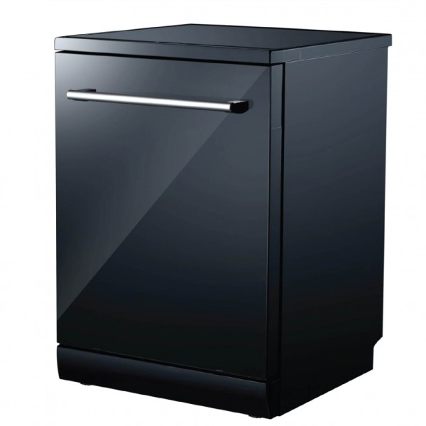 CAMPOMATIC DISH-WASHER 7 PROGRAMS 14 PLACES GLOSSY BLACK