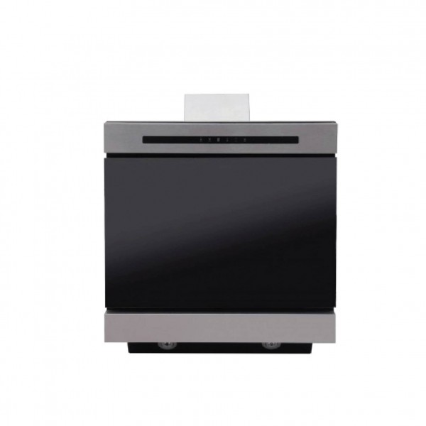 SUPER CHEF WALL MOUNTED GOOD60CM INOX & BLACK