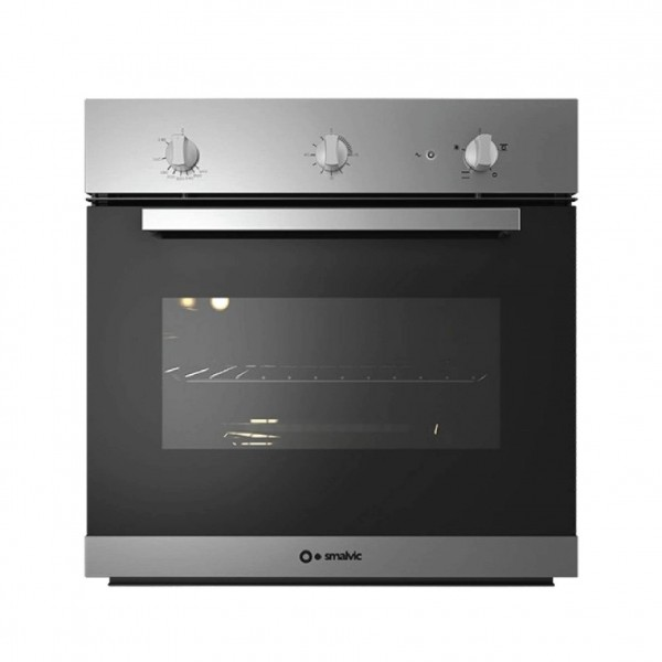 SMALVIC OVEN 60 CM CON. GAS ELECTRIC STAINLESS STEEL