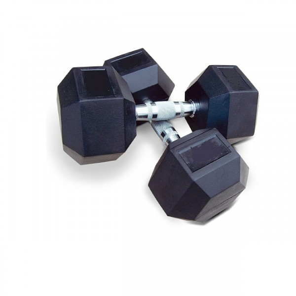 1 PC HEXAGON DUMBELL 12 KILO