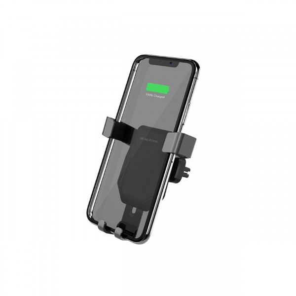 BOROFONE WIRELESS CHARGER AIRDOCK IN-CAR HOLDER