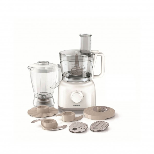 PHILIPS FOOD PROCESSOR 650W, 2.1L + 25 FUNCTIONS