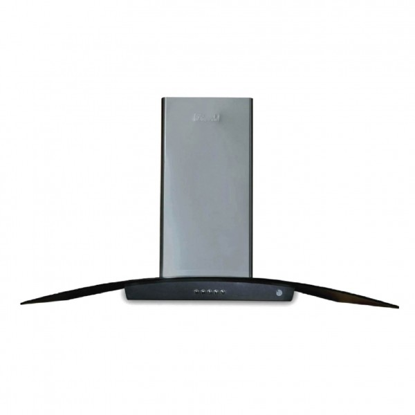 SUPER CHEF WALL MOUNTED HOOD 60CM OVAL GLASS