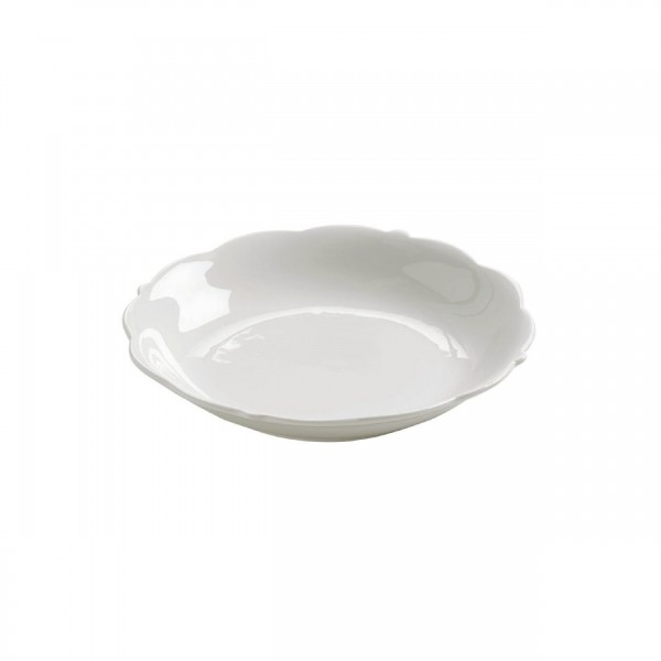 MW WHITE BASICS WHITE ROSE COUPE SOUP 17.5CM