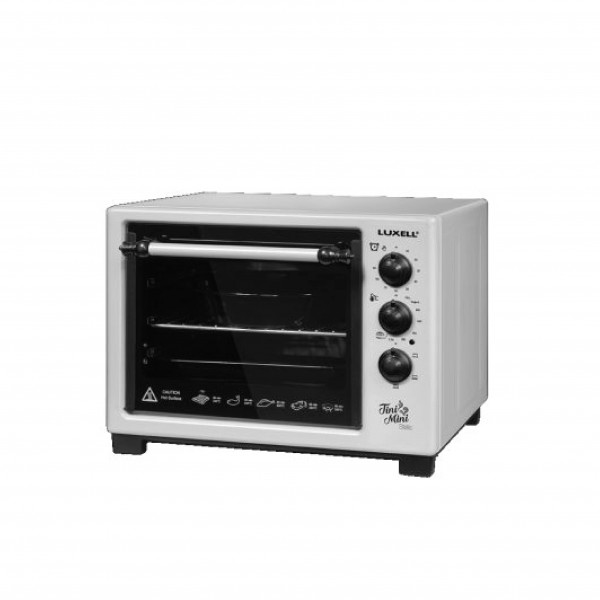 LUXELL ELECTRIC OVEN 25 L 1400 W SILVER