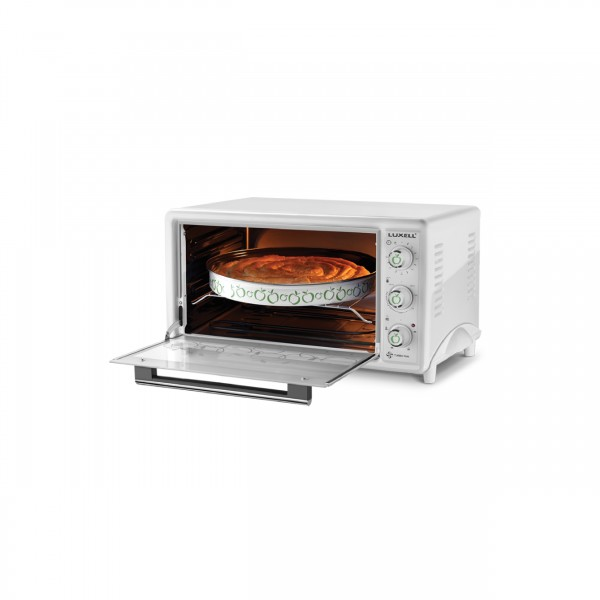 LUXELL ELECTRIC OVEN 45 L + LAMP + FAN