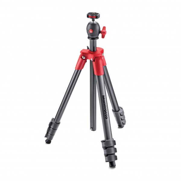 MANFROTTO TRIPOD COMPACT LIGHT RED