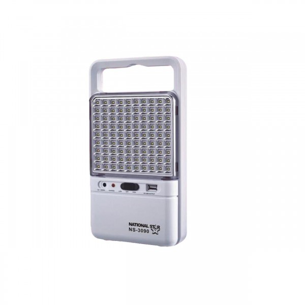 National Star Emergency Light 90 Led Up To 15 Hour