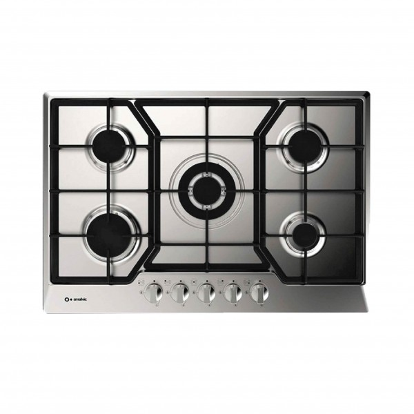 SMALVIC HOB 60CM 4 GAS BURNERS STAINLESS STEEL