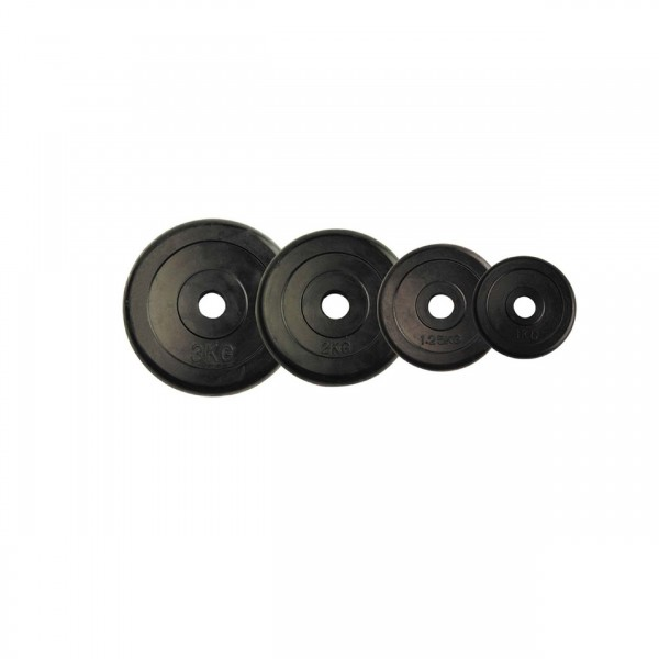 1 PC OF BLACK RUBBER PLATE 7.5 KG