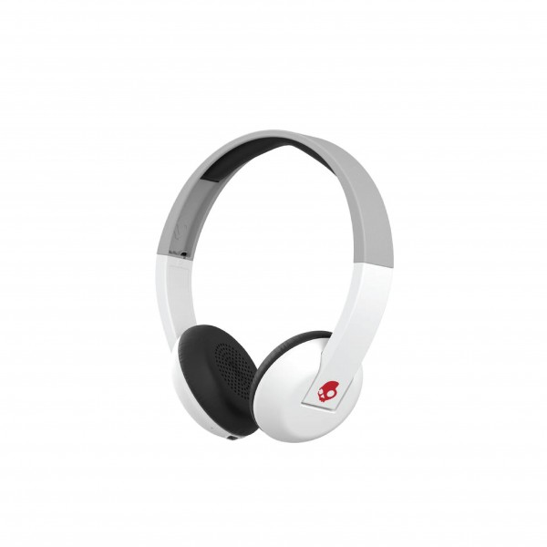 SKULLCANDY UPROAR BT WHITE/GRAY/RED