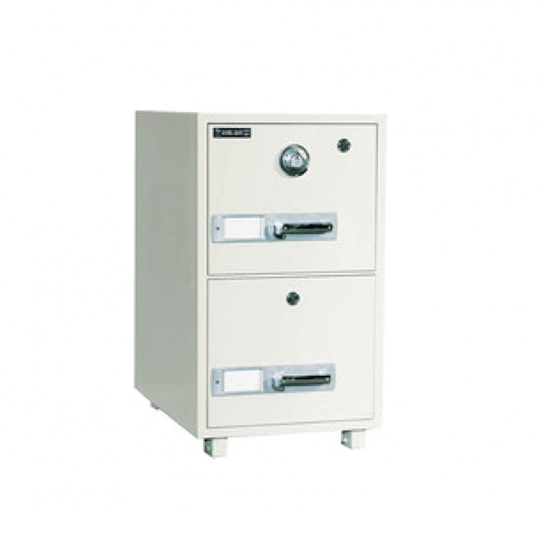 BUMIL SAFE 2 DRAWERS  WEIGHT 163KG H: 823 W: 530 D: 680