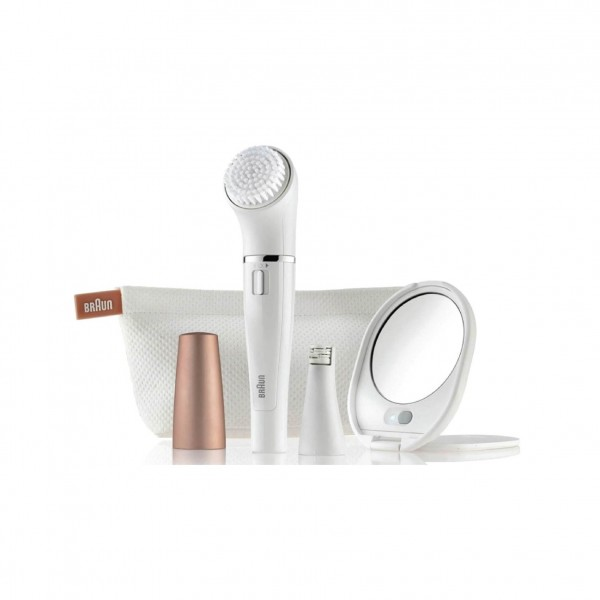 Braun Facial Epilator & Facial Cleaning
