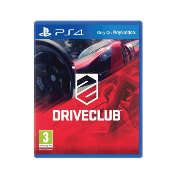 PS4 GAME DRIVECLUB US