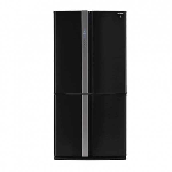 SHARP REFRIGERATOR 26 CF BLACK+STAINLESS PREMIUM