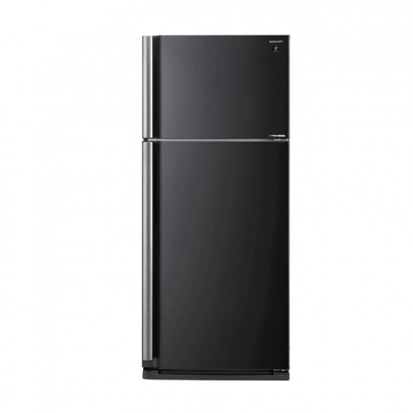 SHARP REFRIGERATOR 2 DOORS 26CF BLACK